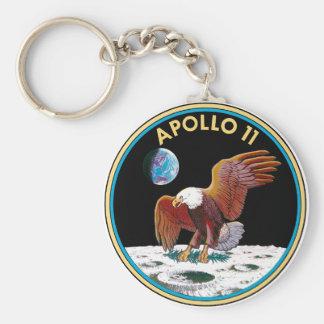 Apollo 11 keychain