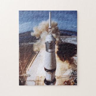 Apollo 11 Launch Jigsaw Puzzle