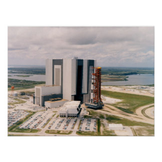 Apollo 11 Leaving the Vehicle Assembly Building Poster