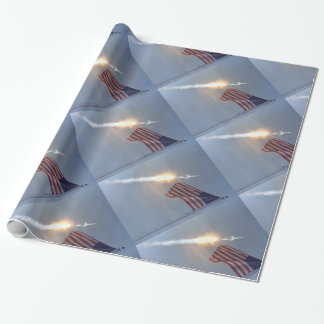 Apollo 11 wrapping paper