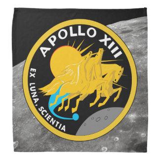 Apollo 13 NASA Mission Patch Logo Bandana