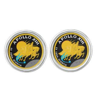 Apollo 13 NASA Mission Patch Logo Cufflinks