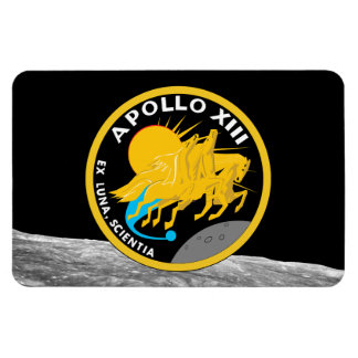 Apollo 13 NASA Mission Patch Logo Magnet