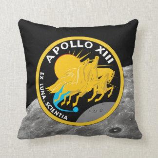 Apollo 13 NASA Mission Patch Logo Throw Pillow