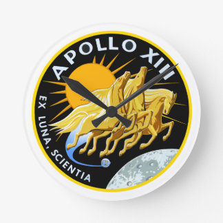 Apollo 13: Survival Round Clock
