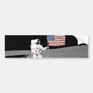 Apollo 14 bumper sticker
