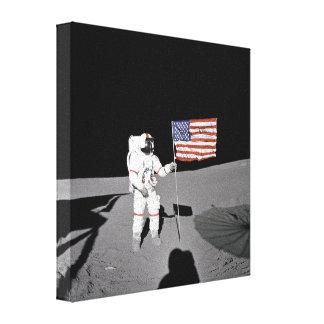 Apollo 14 canvas print