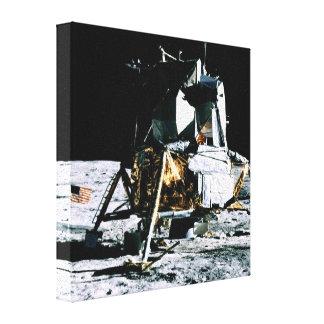 Apollo 14 Lunar Module Gallery Wrapped Canvas