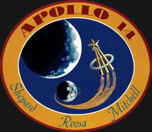 Apollo 14 NASA Mission Patch Logo T Shirt