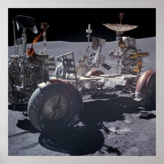 Apollo 16 Lunar Roving Vehicle Poster