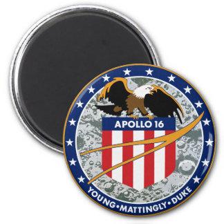 Apollo 16 NASA Mission Patch Logo Magnet