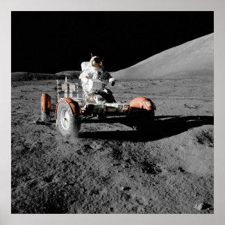 Apollo 17 Lunar Roving Vehicle Poster