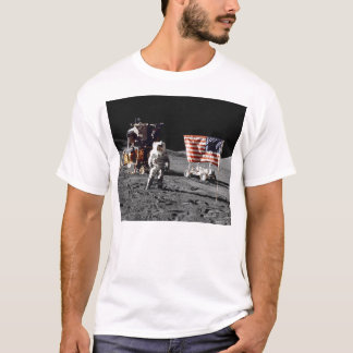 Apollo 17 moon base (front) T-Shirt