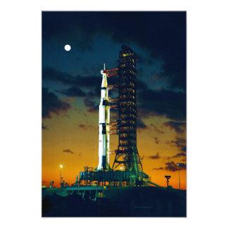 Apollo 4 Saturn V on Pad A Launch Complex 39 Personalized Announcements