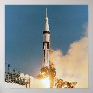 Apollo 7 Launch Poster