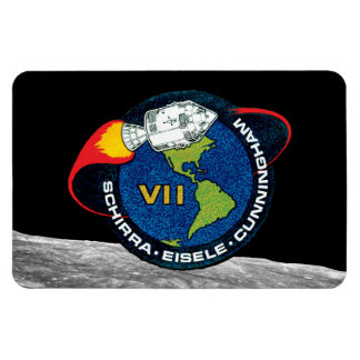 Apollo 7 NASA Mission Patch Logo Magnet