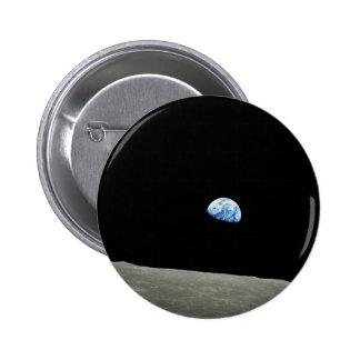 Apollo 8 NASA Moon Mission Earthrise 2 Inch Round Button