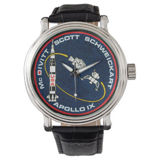 Apollo 9 NASA Mission Patch Logo Watch
