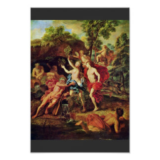 Apollo And Daphne By Loo Jean-Baptiste Van (Best Q Poster