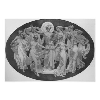 Apollo And The Muses Poster