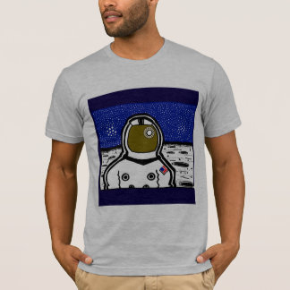 Apollo Astronaut by ScienceFrontiers T-Shirt