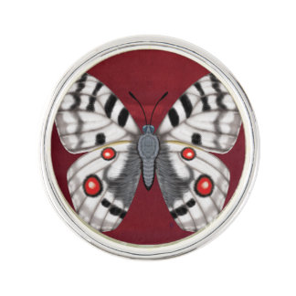 Apollo Butterfly Lapel Pin