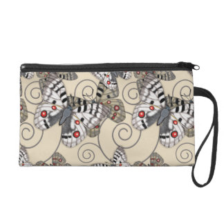Apollo Butterfly Light Wristlet Clutch
