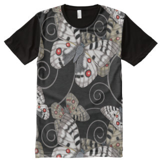 Apollo Butterfly Swirl All-Over-Print T-Shirt