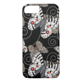 Apollo Butterfly Swirl Dark iPhone 8/7 Case
