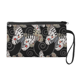 Apollo Butterfly Wristlet Purses