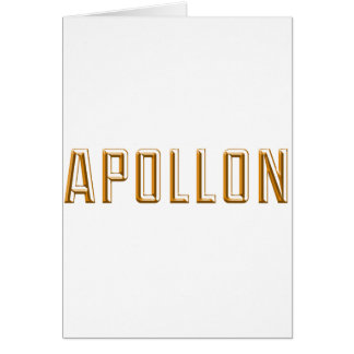 Apollo Card