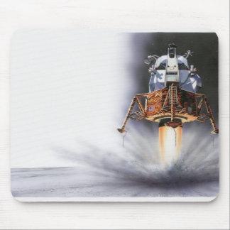 Apollo Eagle Lunar Module Mouse Pad