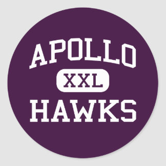 Apollo - Hawks - High School - Glendale Arizona Classic Round Sticker