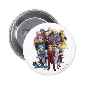 Apollo Justice Key Art 2 Inch Round Button