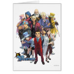 Apollo Justice Key Art Greeting Card