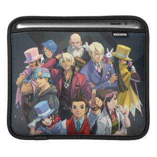 Apollo Justice Key Art iPad Sleeve