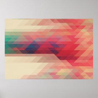 Apollo Modern Geometric Pattern Print