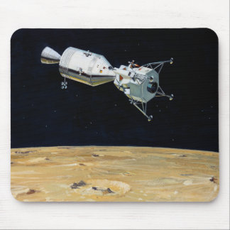 Apollo Program - Moon Mission Artist Concept Mouse Pad