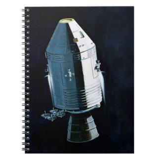 Apollo Program - Moon Mission Artist Concept Notebook