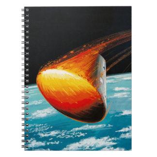 Apollo Program - Moon Mission Artist Concept Notebooks