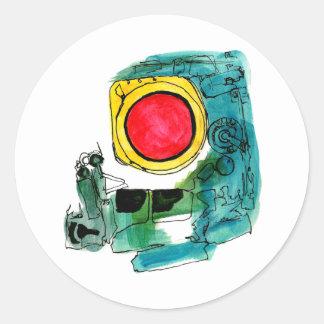 APOLLO Space Sticker