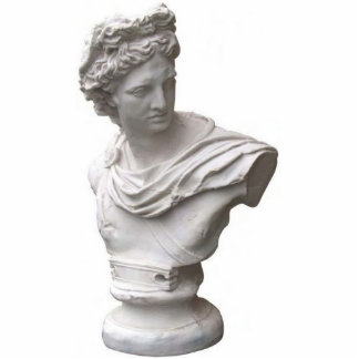 Apollo Standing Photo Sculpture