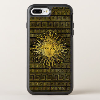 Apollo Sun Symbol on Greek Key Pattern OtterBox Symmetry iPhone 8 Plus/7 Plus Case