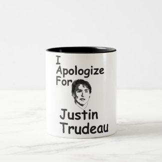 Apology Two-Tone Coffee Mug