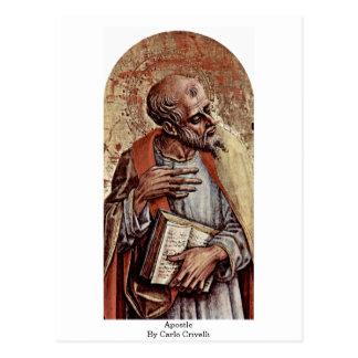 Apostle By Carlo Crivelli Postcard