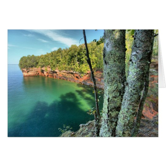 Apostle Islands Sea Caves On Lake Superior Card