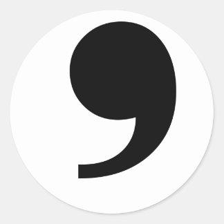 Apostrophe/Comma Sticker
