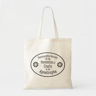 Apostrophe Rules Tote Bag
