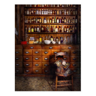 Apothecary - Just the usual selection Postcard