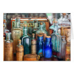 Apothecary - Remedies for the Fits Greeting Cards